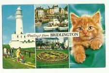 Greetings from Bridlington postcard 1976