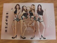 SISTAR - TOUCH & MOVE [ORIGINAL POSTER] *NEW* K-POP