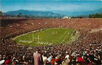 PASADENA, CA California ROSE BOWL Football Game c1950s Postcard