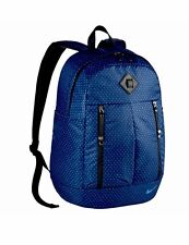 Nike Backpack Auralux Laptop Training Printed Blue Sports Bag New BA5241 364