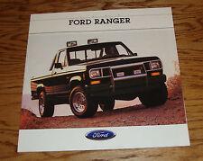 Original 1988 Ford Truck Ranger Sales Brochure 88 Pickup