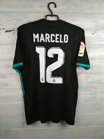 Marcelo Real Madrid jersey Medium 2018 away shirt BR3543 soccer football Adidas