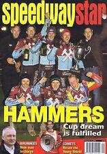 HAMMERS / BRUMMIES / COMETS / PLYMOUTH DEVILSSpeedway StarOct312009