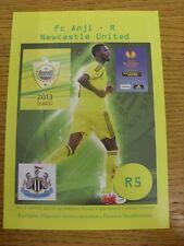 07/03/2013 Anzhi Makhachkala v Newcastle United [Europa League] (Pirate: Yellow