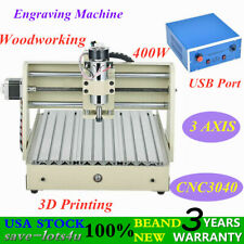 Usb Port 3 Axis 3040 Engraving Milling Machine Cnc Router Engraver Carving Usa