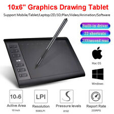Large Screen Professional Drawing Graphics Tablet 8192 Levels Art Painting Board