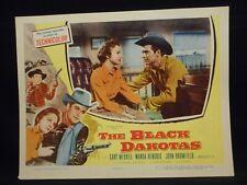 The Black Dakotas 1954 Lobby Card VF Western Gary Merrill Wanda Hendrix