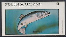 GB Locals - Staffa 3509 - 1982  FISH imperf souvenir sheet u/m