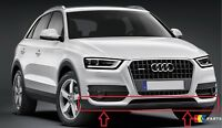 NEW GENUINE AUDI Q3 2012-2016 FRONT BUMPER BLACK LOWER SPOILER 8U0807061 4U8