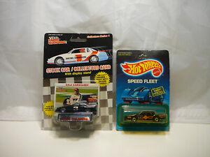 Dale Earnhardt Sr Goodwrench 1989 Rubber Tires Hot wheels Speed Fleet - Lot of 2