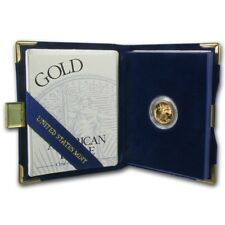 1994-W 1/10 oz Proof Gold American Eagle (w/Box & COA) - SKU #4925