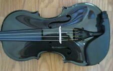 Glasser CARBON COMPOSITE  Black 4 string - ACOUSTIC ELECTRIC VIOLIN 4/4