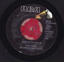 SAM COOKE Wonderful World / Everybody Loves To Cha Cha Cha 45