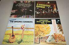Lot of 4 Songs of the Singing Cowboys Award Winners 1968-77 country HOF vol.2 +1