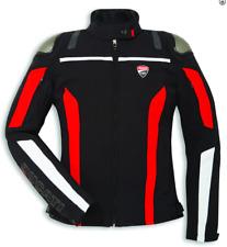 Ducati Corse Tex C4 Stoffjacke Damen Schwarz/Rot Größe 40