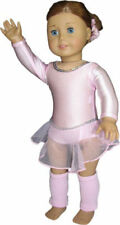 Pink Leotard with Skirt and Leg Warmers fits American Girl ® Dolls