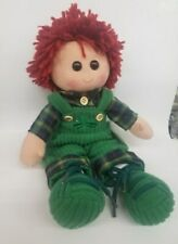 GENUINE RORY THE CUDDLY RAG DOLL *NEW WITH TAGS* MADE IN IRELAND