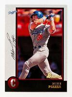 Mike Piazza #18 (1998 Bowman) Baseball Card, Los Angeles Dodgers, HOF