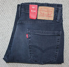 NWT Levi's 514 MEN'S JEANS • Dark Wash • Straight • Stretch