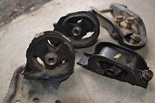 90-91 Honda CRX SI HF DX OEM Engine Mount Set Automatic w/Bracket Automatic