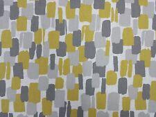 Clarke and Clarke Sundowner Chartreuse Curtain Upholstery Craft Designer Fabric
