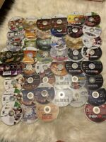 Lot of 48 Xbox 360 Discs Games Discs only Untested As Is Variety