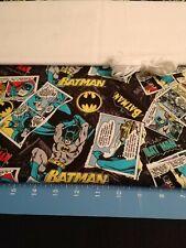 Batman FQ Cotton Quilt Fabric Elastic Muslin DIY Mask Supplies Bundle #2 comics