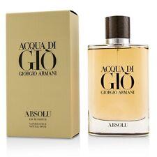 Acqua Di Gio Absolu By Giorgio Armani Men Eau De Parfum LTD EDIT 200ml 6.8oz NIB