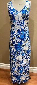 Tommy Bahama Hawaiian Floral Maxi Dress, Size Small, NWT