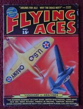 FLYING ACES Magazine May 1940 ~ Vanguard vs. Airacobra Planes Aviation Models ++
