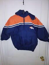CHILD Size 8 Denver Broncos Puma NFL Pro Line Field Winter Jacket coat vintage