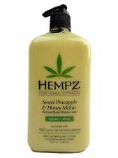 Hempz Sweet Pineapple And Honey Melon Herbal Body Moisturizer Lotion 17oz