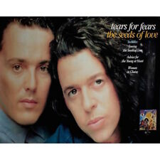 Tears For Fears - The Seeds of Love - Poster Lot 449