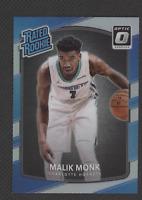 2017-18 Optic Holo Silver Prizm Rookie- Malik Monk Charlotte Hornets! RC