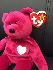 TY Beanie Baby Original Valentina RARE TAG ERROR Heart