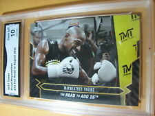 FLOYD MAYWEATHER 2017 TOPPS NOW ROAD TO AUG. 26 # 19 GRADED 10  L@@@K