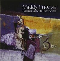 Maddy Prior With Hannah James and Giles Lewin - 3 For Joy [CD]