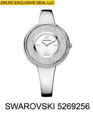 Swarovski Women's Crystalline Pure 850 34mm Steel Bracelet Quartz Watch 5269256