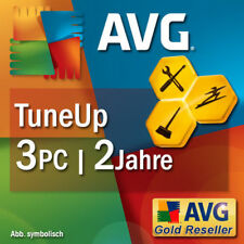 TuneUp Utilities 2018 3 PC 2 Jahre Vollversion AVG PC TuneUp DE EU Tune Up NEU