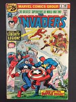 Invaders #6 Liberty Legion Marvel Comics 1976 Combine Shipping