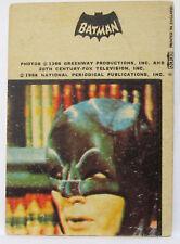RARE # 15 Robin 1966 Batman Gum Card A&BC Black Cowl Europe Dutch Belgium Issue