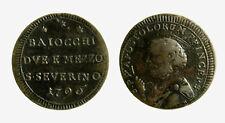 pcc2126_38) San Severino Pio VI (1774-1799)  Sampietrino 2 Baiocchi e 1/2 1796