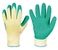 Arbeitshandschuhe Latex beschichte Gr.9 Schutzhandschuhe Gartenhandschuhe grün
