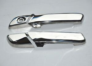 Volvo FH4 2013+ LHD Door Handle Covers  Super Polished Stainless Steel 4 PCS