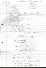 Tom Hardy Signed Photo & Charles Salvador Bronson Letter & Envelope