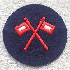 EAST GERMAN NAVY PATCH DDR NVA Signals Communication Badge Uniform Volksmarine