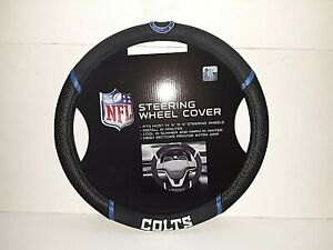 Indianapolis Colts NFL Embroidered Steering Wheel Cover
