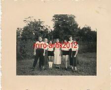 Foto, Arbeitsdienst, Zwickau Marienhof 1/70, Maiden, BDM, in kurzen Höschen 1937