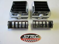 70 1970 Chevelle Monte Carlo new set of side & center ac chrome vent diverters