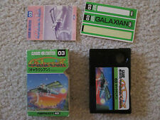 Galaxian (MSX) Game Complete ? in Box *USA Seller*